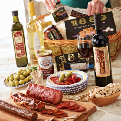 Feast of Spanish Flavor Basket