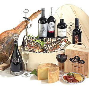 The 'De Lujo' Gift Box with Serrano Ham