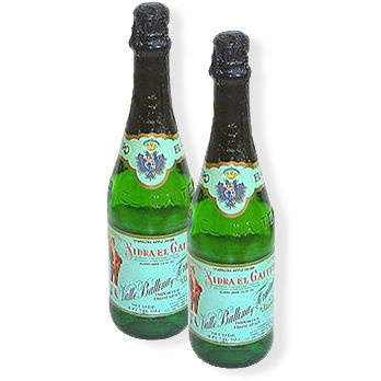 6 Bottles of Sidra by El Gaitero
