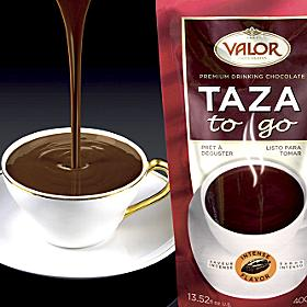 Valor 'Taza to Go' Thick Hot Chocolate (2 Packages)