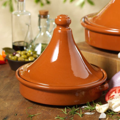 Tagine Terra Cotta Cookware (10 Inch Diameter)