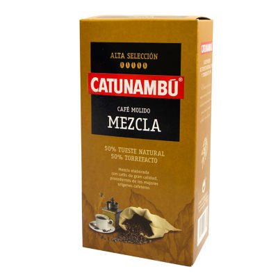 2 Packages of Ground Mixed Torrefacto Coffee by Catunambu
