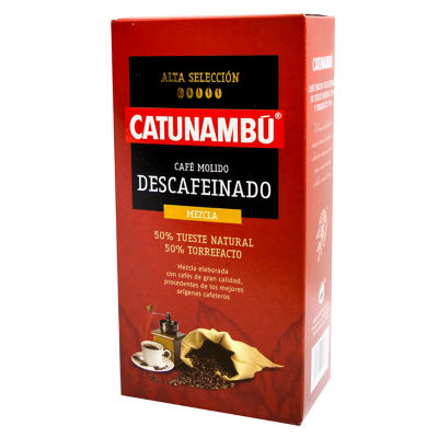 Decaffeinated Ground Mixed Torrefacto Coffee by Catunambu (2 Bags)