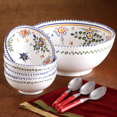 Gazpacho Set - Color 'Flor' Design