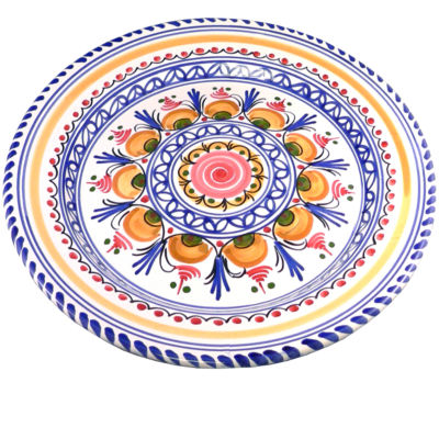 Dinner Plate, Traditional Design - 11 Inches