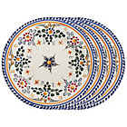 Set of Four Tapas Plates - 7 Inches each