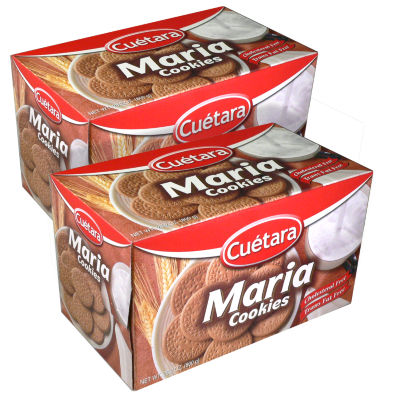 2 Boxes of Classic Maria Cookies by Cuetara