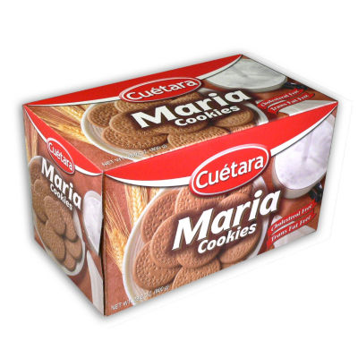 4 Boxes of Classic Maria Cookies by Cuetara