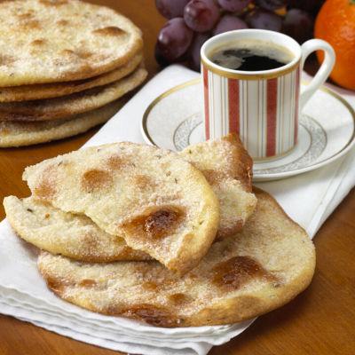 2 Packages of Sweet 'Tortas de Aceite' Crisps by Ines Rosales