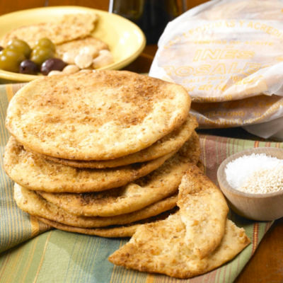 Sesame & Sea Salt Tortas de Aceite Crisps by Ines Rosales (2 Packages)