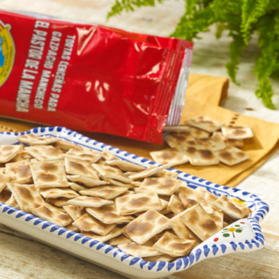 Cenceña Crackers for Gazpacho Manchego (3 Packages)