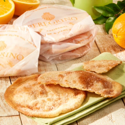 2 Packages of Seville Orange Tortas de Aceite Crisps by Peregrino