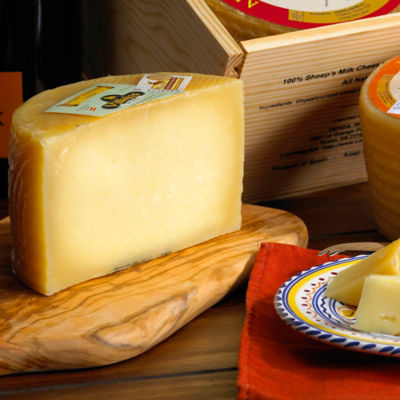 Artisan Villajos Aged Manchego Cheese - 2 Pounds