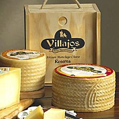 Villajos 'Reserva' Manchego Cheese in Wooden Box