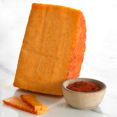 Smoked Paprika Infused Cheese - 1.1 Pounds