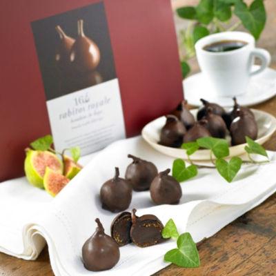 Rabitos Royale Dark Chocolate Fig Bonbons (16 Pieces)