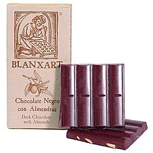 Dark Chocolate Bar with  Marcona Almonds by Blanxart