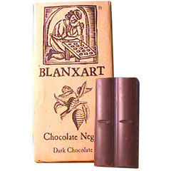 2 Bars of Gourmet Dark Chocolate by Blanxart