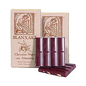 Dark Chocolate Duet - 1 Plain Bar & 1 with Marcona Almonds