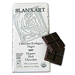 Organic Dark Chocolate Bar by Blanxart (2 Bars)