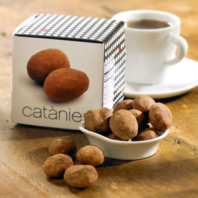 Catànies Chocolate Covered Almonds by Cudié