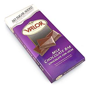 Sugar Free Milk Chocolate by Valor (2 Bars)