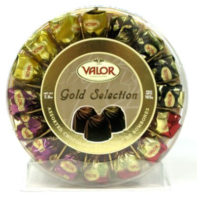 Gold Selection Chocolate Truffles Gift Box by Valor