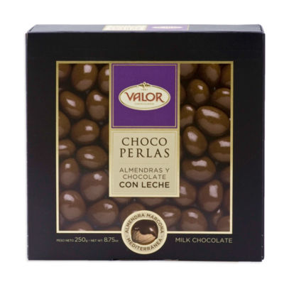 Choco Perlas - Milk Chocolate Covered Marcona Almonds by Valor
