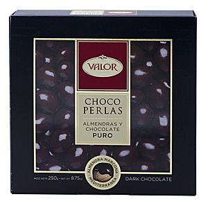 Choco Perlas - Dark Chocolate Covered Marcona Almonds by Valor