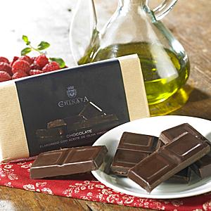 Dark Chocolate Bar with Extra Virgin Olive Oil