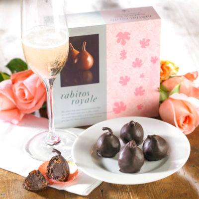Rabitos Royale Dark Chocolate Fig Bonbons (5 Pieces)