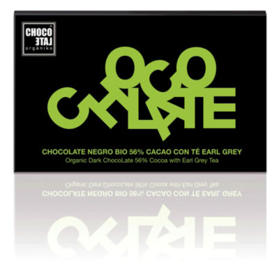 Dark Chocolate with Earl Grey Tea by Orgániko (3 Bars)