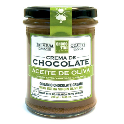 Chocolate Hazelnut Cream with Extra Virgin Olive Oil (2 Jars)