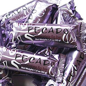 Pecado Chocolate Fig Bars (4 Bars)