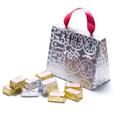 Silver Purse Chocolate Gift Box by Farga