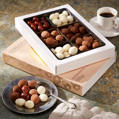 Crackania - Deluxe Gift Box of Chocolate Covered Almonds