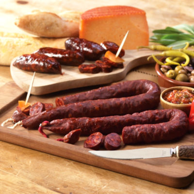 Palacios Chorizo Combo - 1 Hot, 1 Mild & 1 Mini
