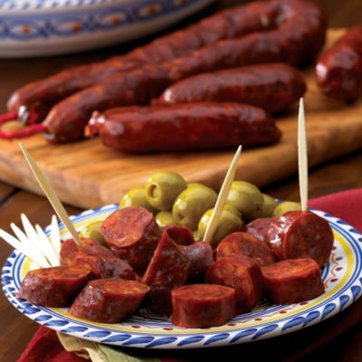 2 Packages of Palacios 'Oreados' Mini Chorizos