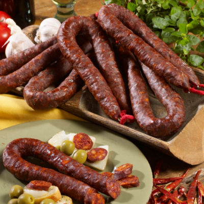5 Packages of Palacios Hot Chorizo
