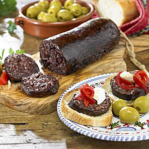 Morcilla de Burgos - Black Sausage with Rice (2 Packages)