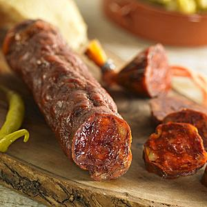 Palacios Slicing Chorizo from Spain - All Natural