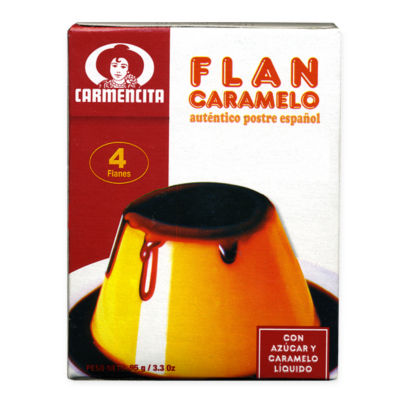 Flan Custard Mix (6 Boxes)
