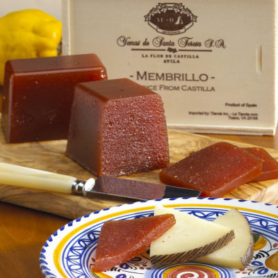 Artisan Membrillo (Quince Jelly) in Wood Gift Box