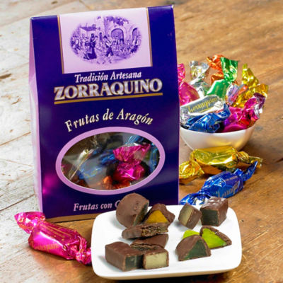 Frutas de Aragón - Chocolate Covered Fruit Candy