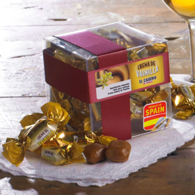 2 Boxes of Crema de Vainilla Caramel Candies by El Caserio