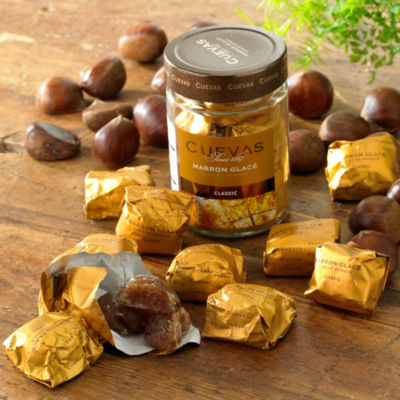 Marrons Glaces Vanilla Glazed Chestnuts
