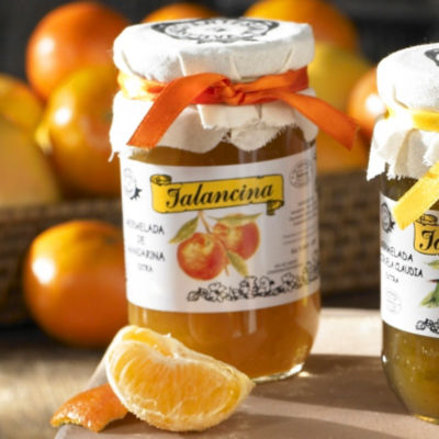 2 Jars of Valencian Mandarina Orange Marmalade