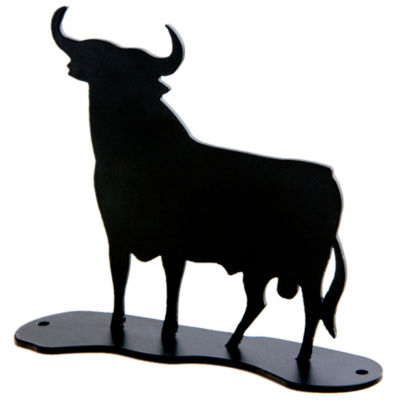 Osborne Bull Sculpture - 4 Inches Tall