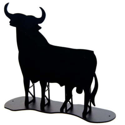 Osborne Bull Sculpture - 8 Inches Tall
