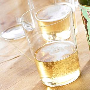 Authentic Cider Glasses (6 Glasses with 16 Oz Capacity)